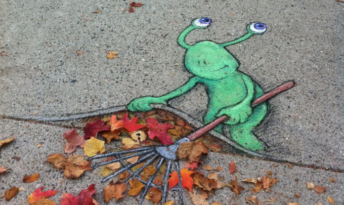 Chalk Art by David Zinn (28 photos) – A Collection 1
