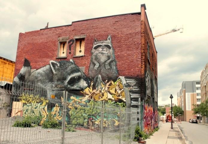 Street Art in Montréal, Canada