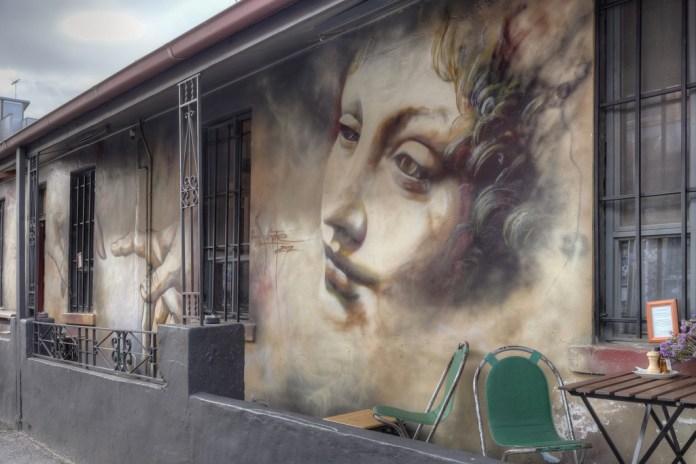 Street Art by Adnate – In Fitzroy, Melbourne, Victoria, Australia
