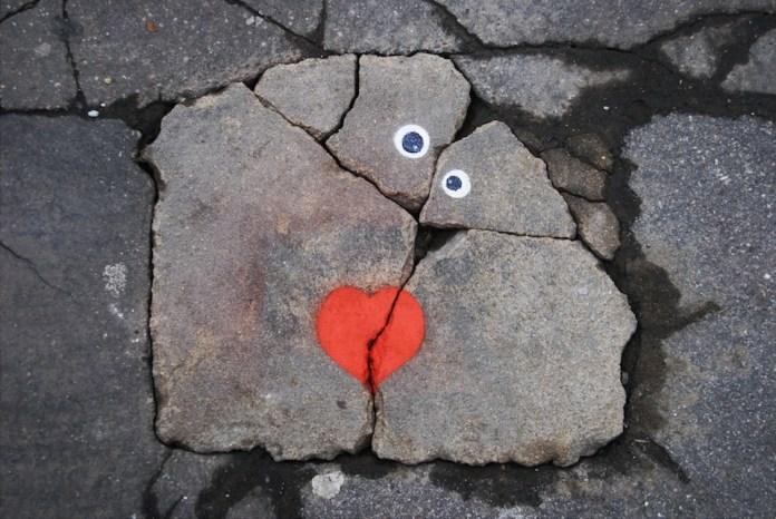 Street Art on Valentine's Day
