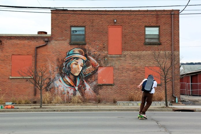 Street Art by Alice – In Ithaca, New York, USA