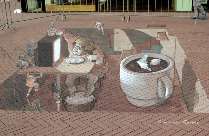 Street Art in 3D by Eduardo Relero 45756