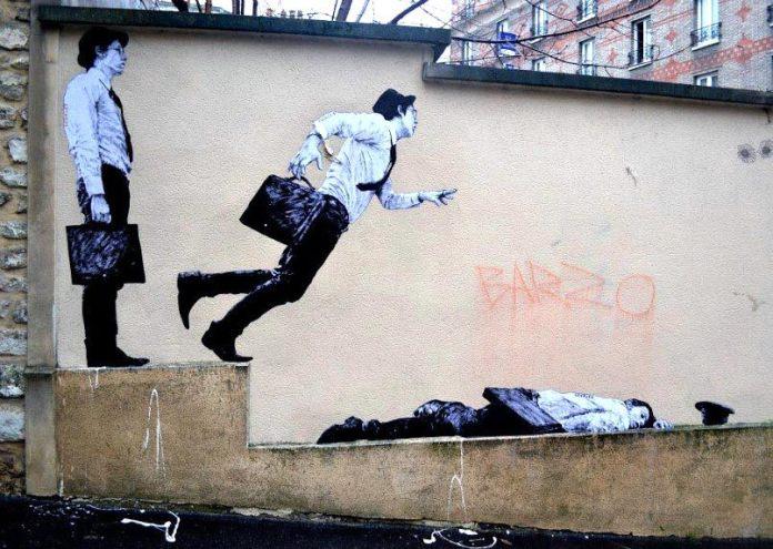 By Levalet in Paris, France