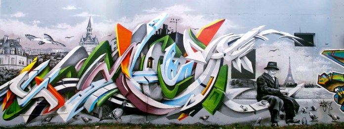 Graffiti by Smog-One 1