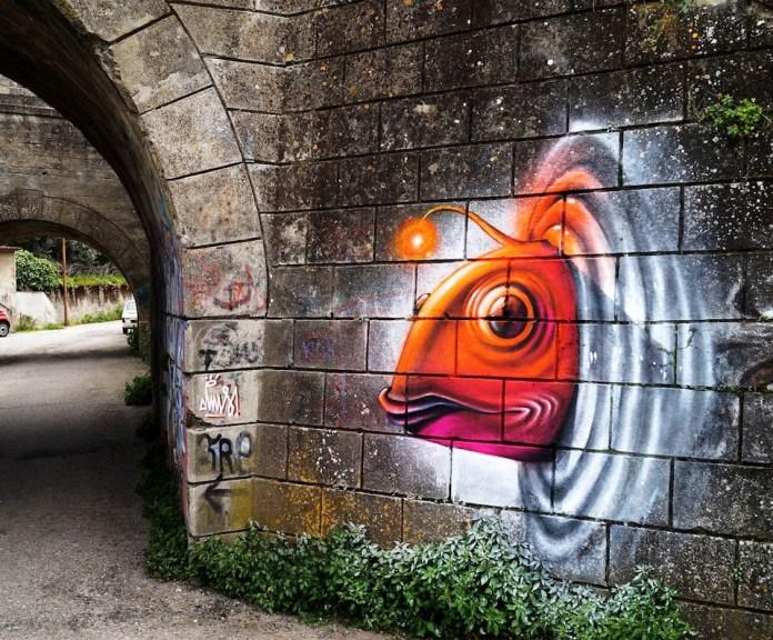 Street Art DMS in Catanzaro, Italy