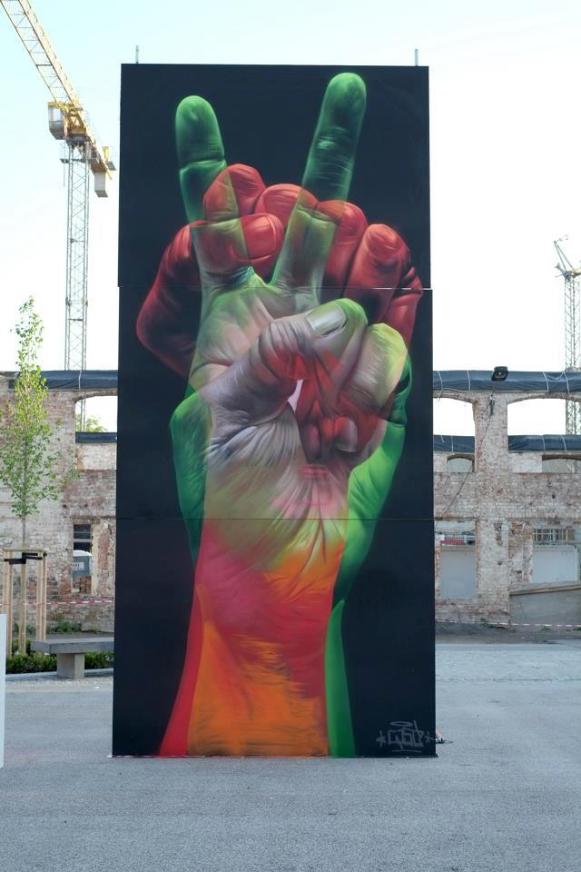 Street Art by CASE – In Wittenberg, Baden-Württemberg