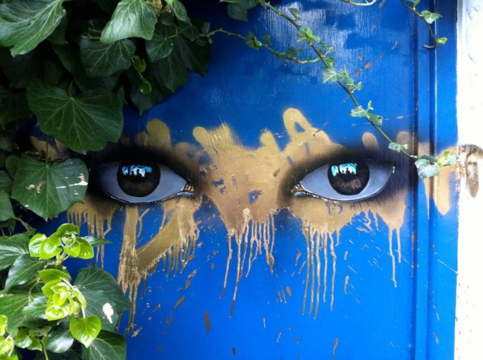 Street Art by My Dog Sighs in Dulwich, London, England