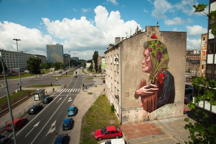 Street Art by ETAM CRU in Lodz, Poland 1