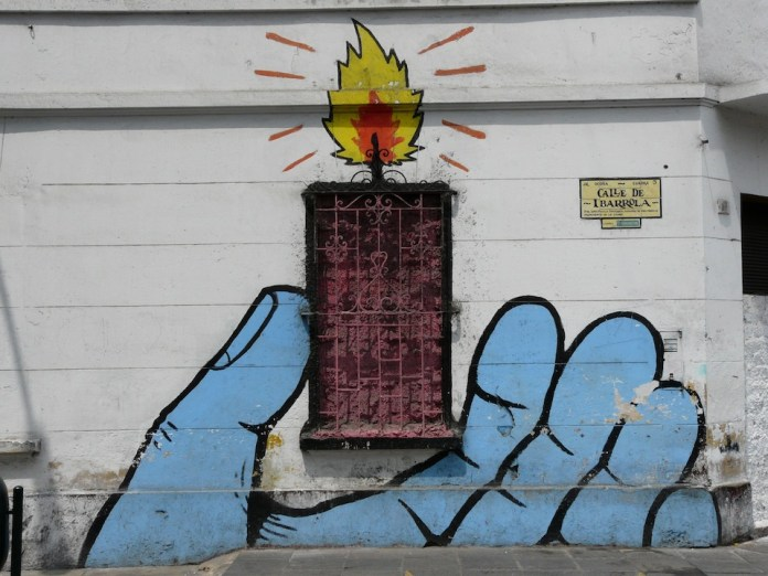 Street Art by el Decertor  – In Lima, Peru