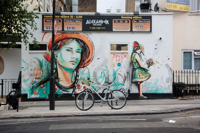 Street Art by Alice in London, UK