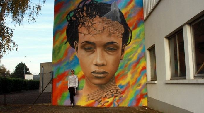 Street Art by Anthony Lemer in Clermont Ferrand, France