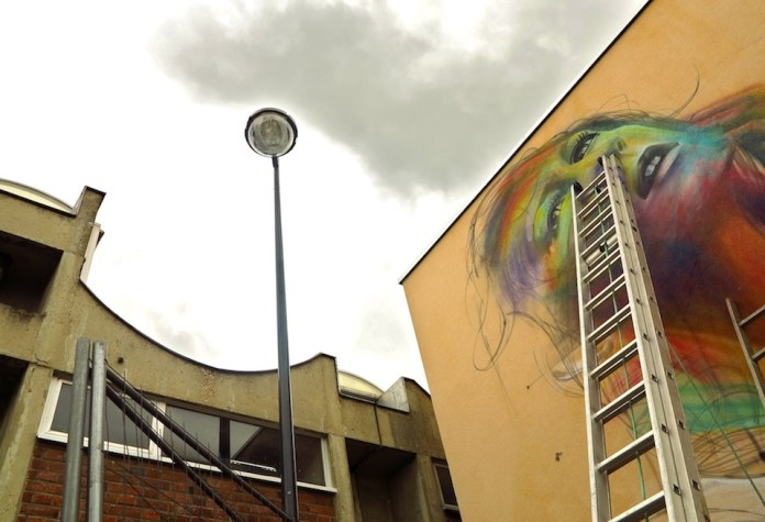 Street Art by Hopare in Orsay, France 4