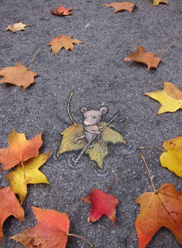 Chalk Art by David Zinn in Michigan, USA 397379