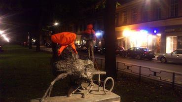 Street Art on Guantánamo in Stockholm, Sweden 7