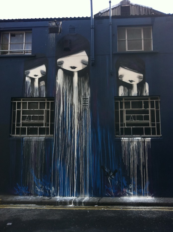 Street Art by DMC in Dublin, Ireland