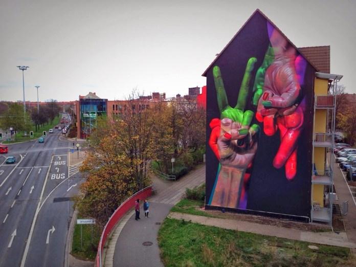 Street Art by Case in Erfurt, Germany