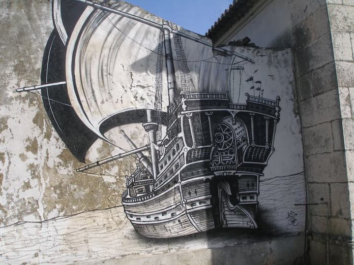 Street Art in Lisboa, Portugal