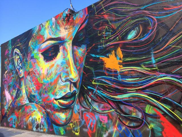 Street Art by David Walker in Miami, USA