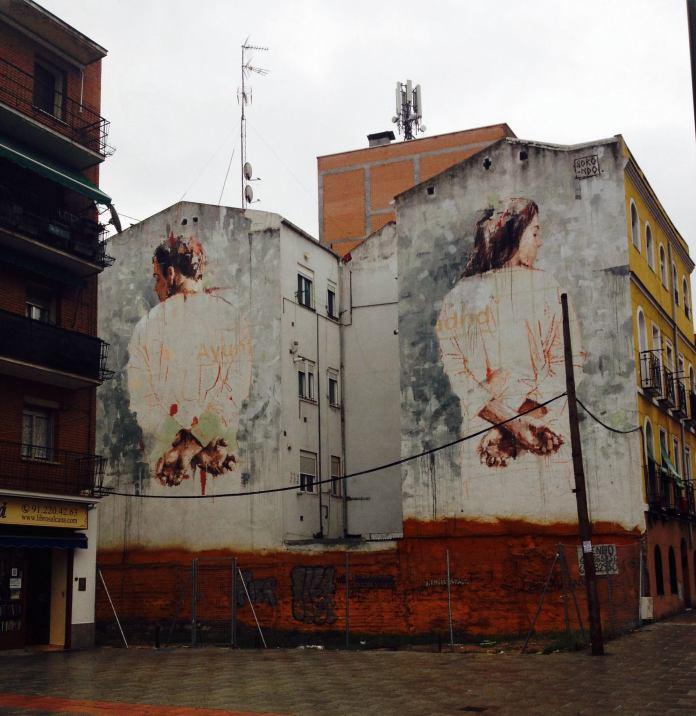 Street Art by Borondo in Tetuan, Madrid, Italy 1