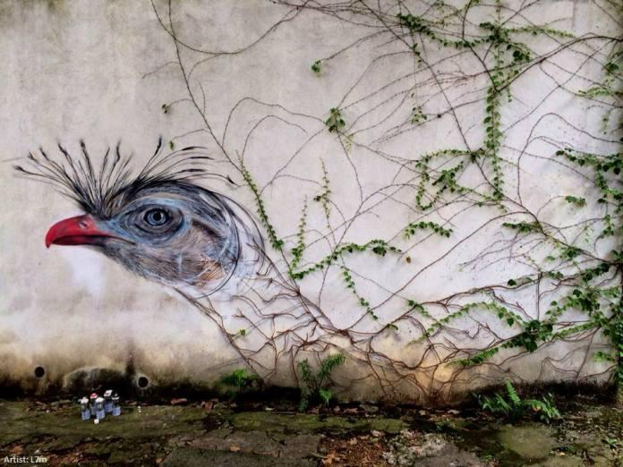 Street Art by L7m in Sao Paulo, Brazil