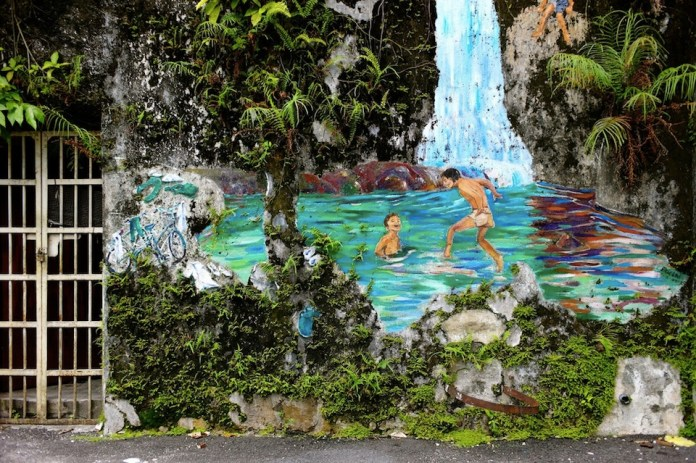 Ipoh Malaysia Street Art 2014 – By Eric Lai