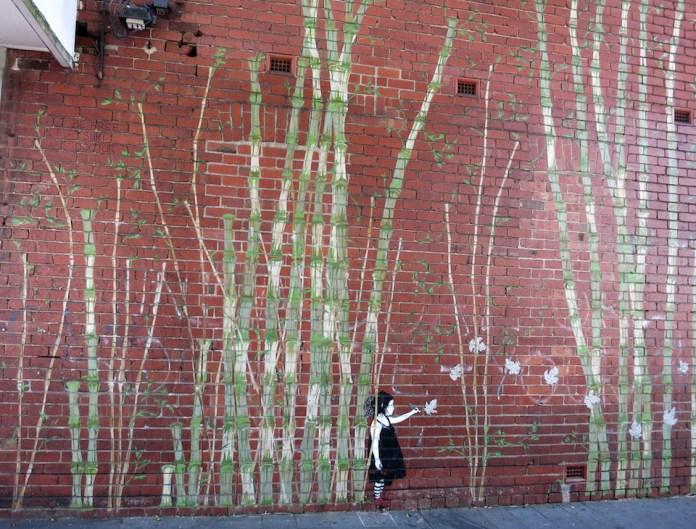 Street Art by Be Free in Melbourne, Australia 2