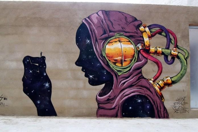 Street Art by Deih – In Valencia, Spain