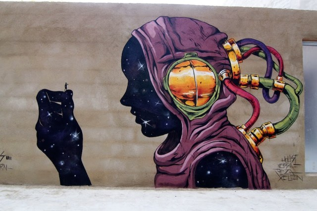 Street Art by Deih in Valencia, Spain 45745