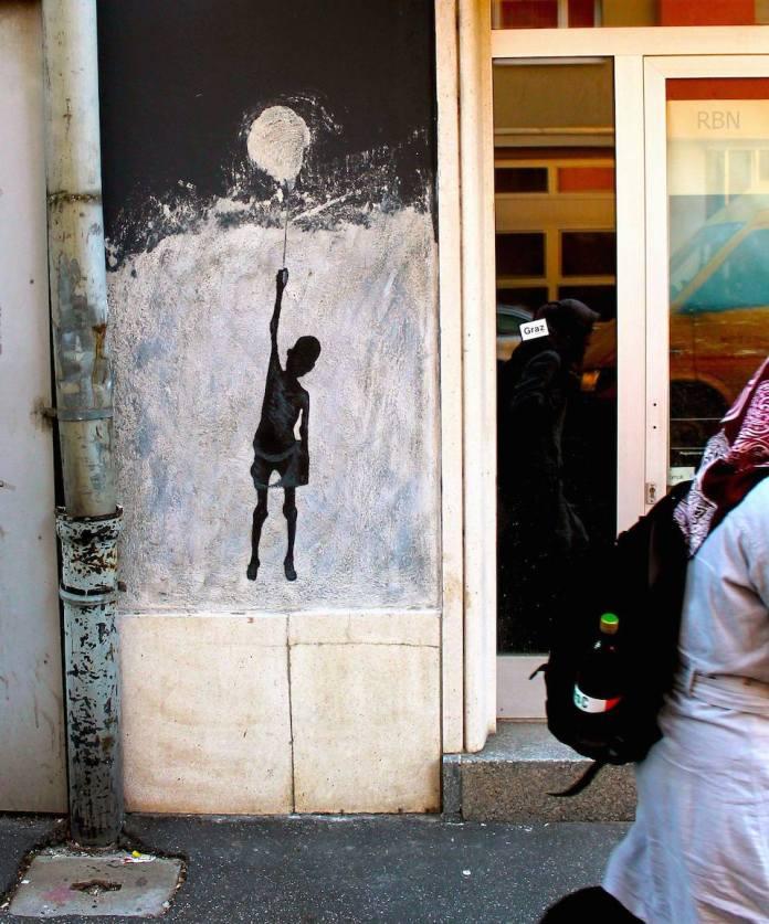 Street Art by Balkan Kru in Graz, Austria