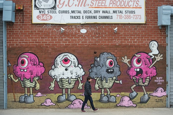 By Buff Monster in Brooklyn, New York, USA