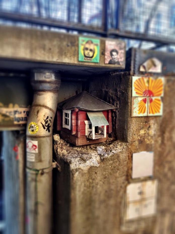 Little house in Stockholm, Sweden