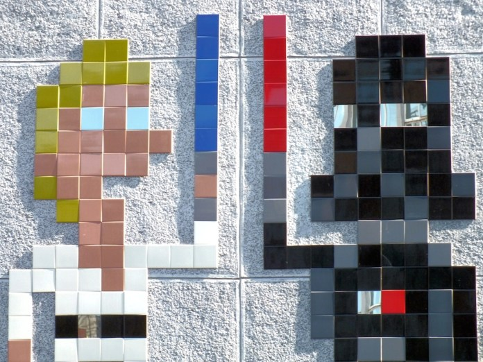 Star Wars street art by Invader in London, England 4
