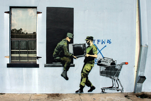 Street Art Collection - Banksy 38