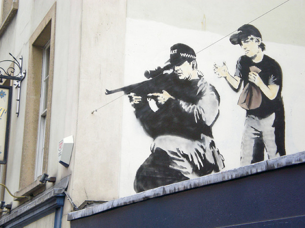 Street Art Collection - Banksy 58