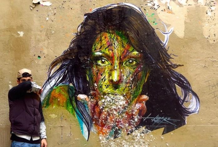 Street Art by Hopare in Paris, France 1 4567457