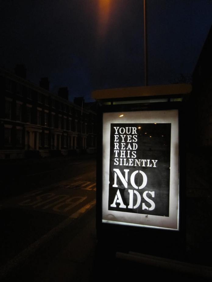 Brandalism - In Liverpool. By John Fekner