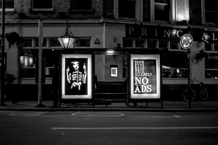 Brandalism - In London. By Anthony Lister