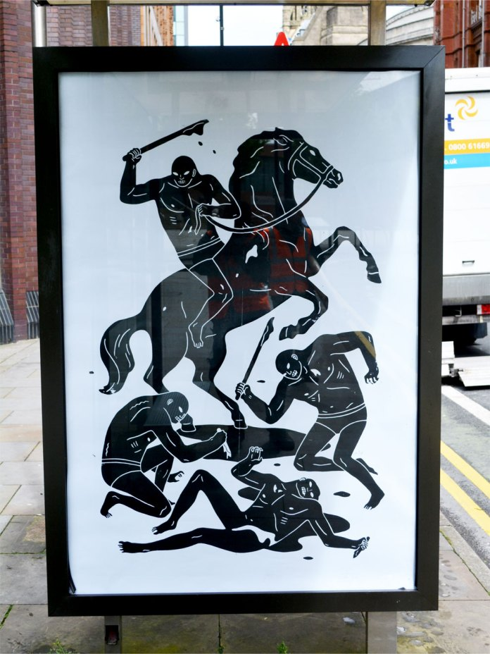 Brandalism - In Manchester. By Cleon Peterson