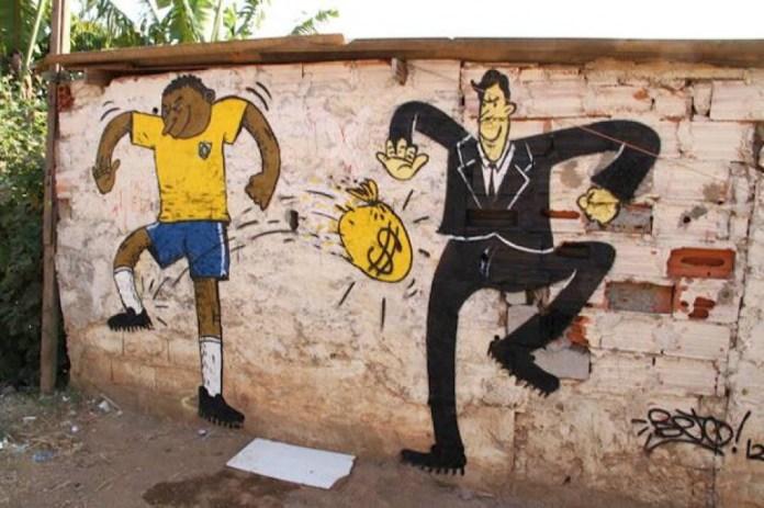 Street Art FIFA World Cup in Rio de Janeiro, Brazil 5456435778