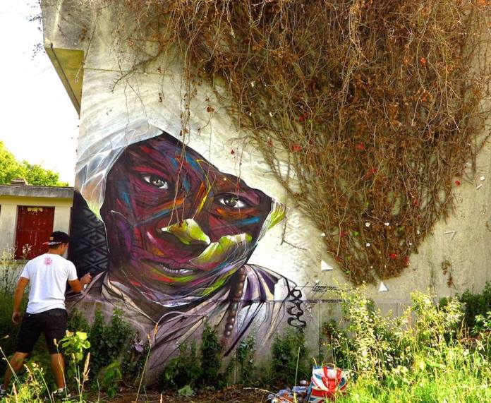 Street Art by Hopare in Limours, France 867844