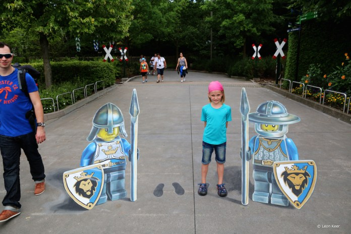 3D Street Art by Leon Keer – At Legoland
