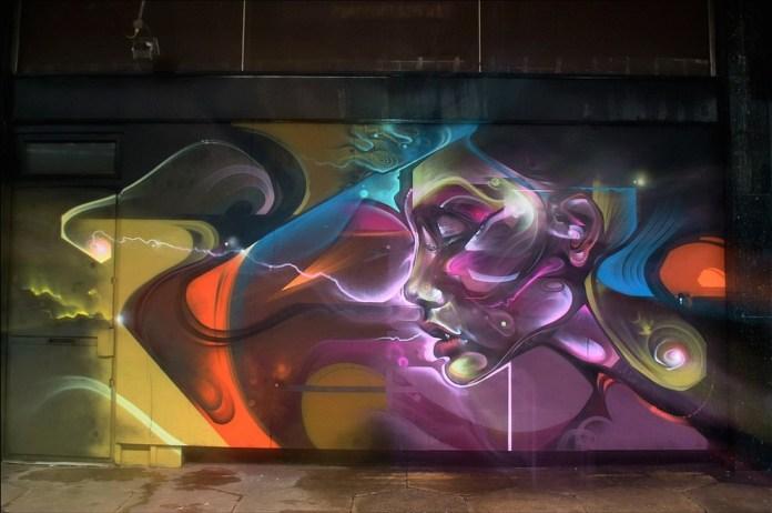 Street Art by Mr Cenz in Croydon, London, UK
