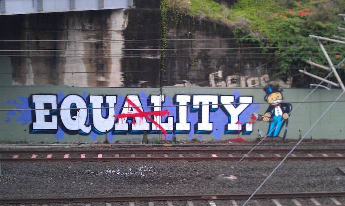 Street Art Equality or Equity