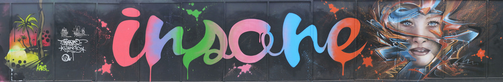Street Art by Mr Shiz in London, England 2