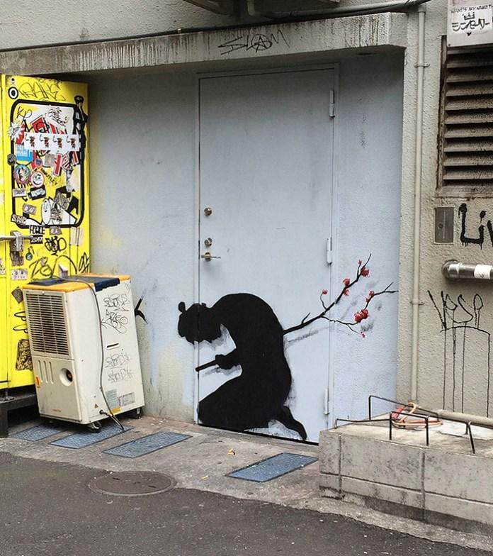 Street Art by Pejac - In Tokyo, Asia 4