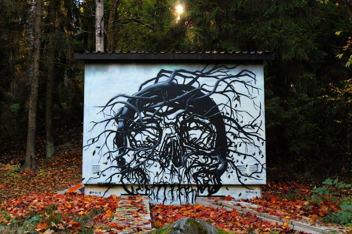 Street Art by Vegan Flava in Stockholm, Sweden 3
