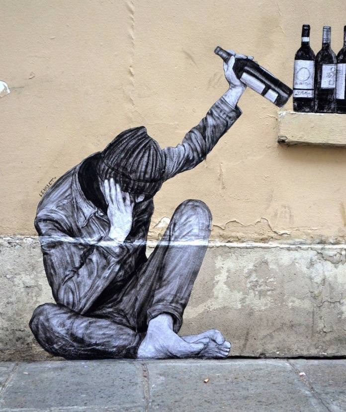 One too many - By Levalet in Paris, France 2