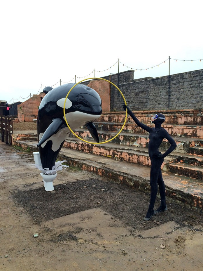 Street Art by Banksy and other artists in London, England - Dismaland 11