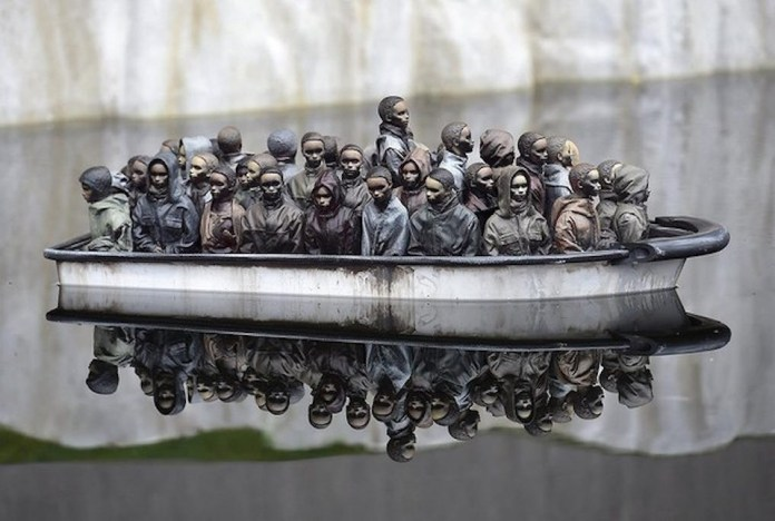 Street Art by Banksy and other artists in London, England - Dismaland 19