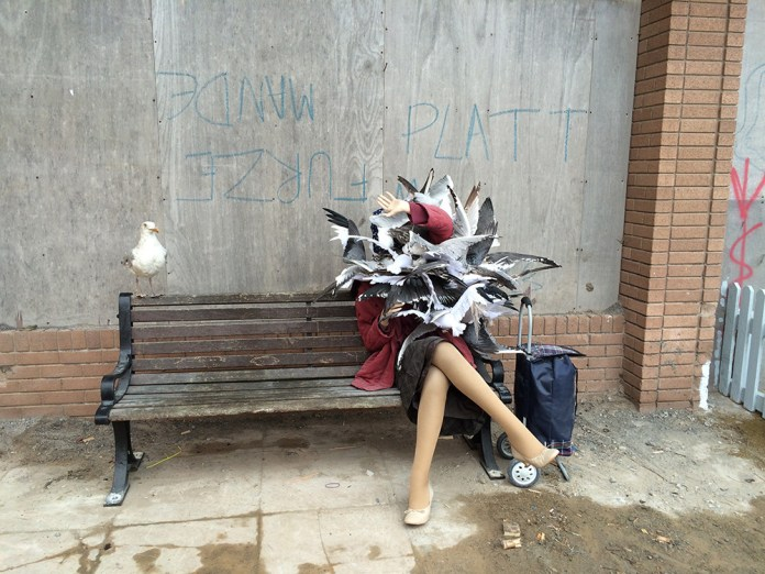 Street Art by Banksy and other artists in London, England - Dismaland 7